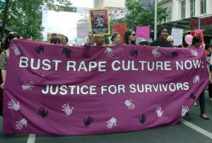Pink sign rape culture